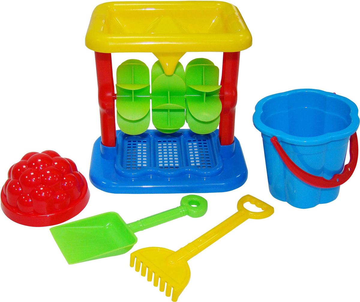 Полесье Набор игрушек для песочницы №347