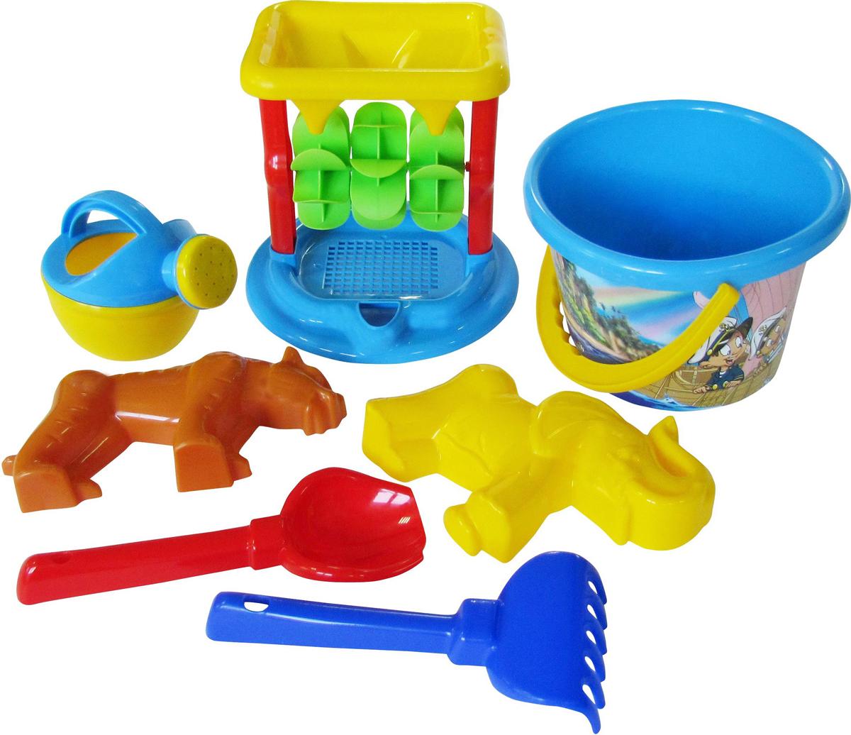 Полесье Набор игрушек для песочницы №350 набор для песочницы полесье 350