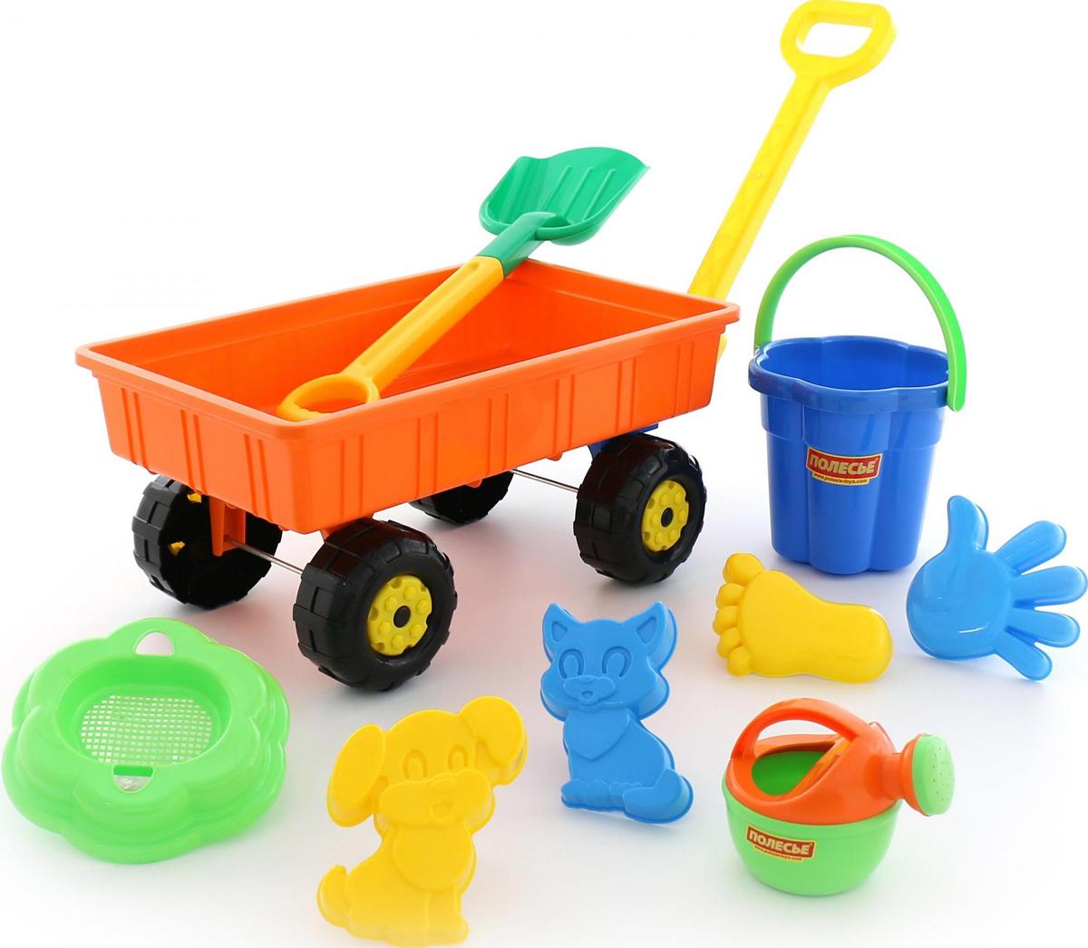 Полесье Набор игрушек для песочницы №382 - Игры на открытом воздухе