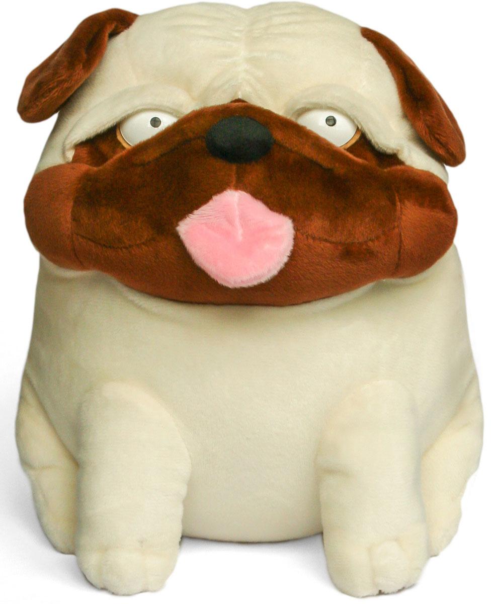 Малышарики Мягкая игрушка Собака Мопс 23 см мягкая игрушка малышарики нюшенька 25 см