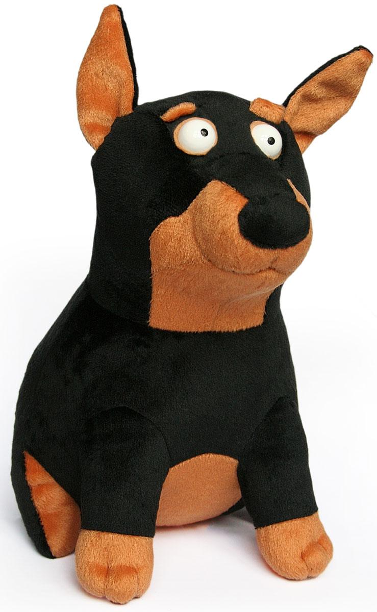 Zakazat.ru: Малышарики Мягкая игрушка Собака Доберман 28 см
