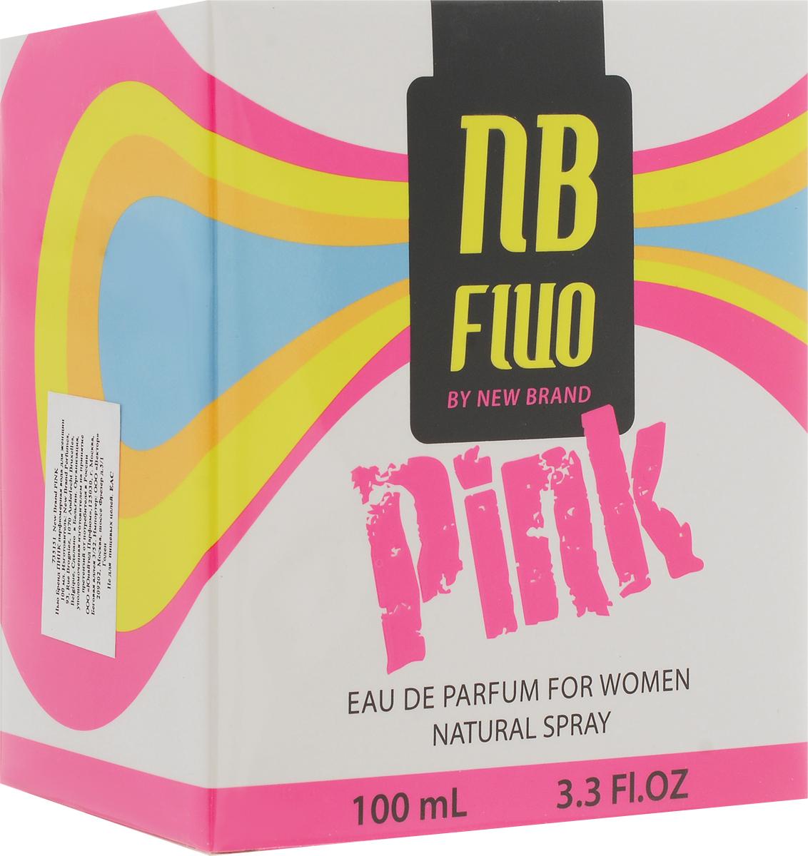 New Brand Perfumes Парфюмерная вода для женщин Pink, 100 мл - Парфюмерия