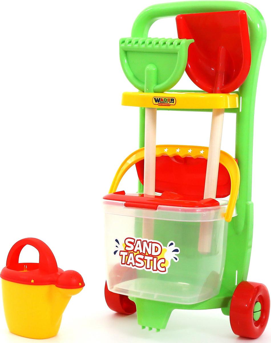 Полесье Набор игрушек для песочницы №394 Sand Tastic полесье набор игрушек для песочницы тачка садовод с лопатой и граблями цвет желтый