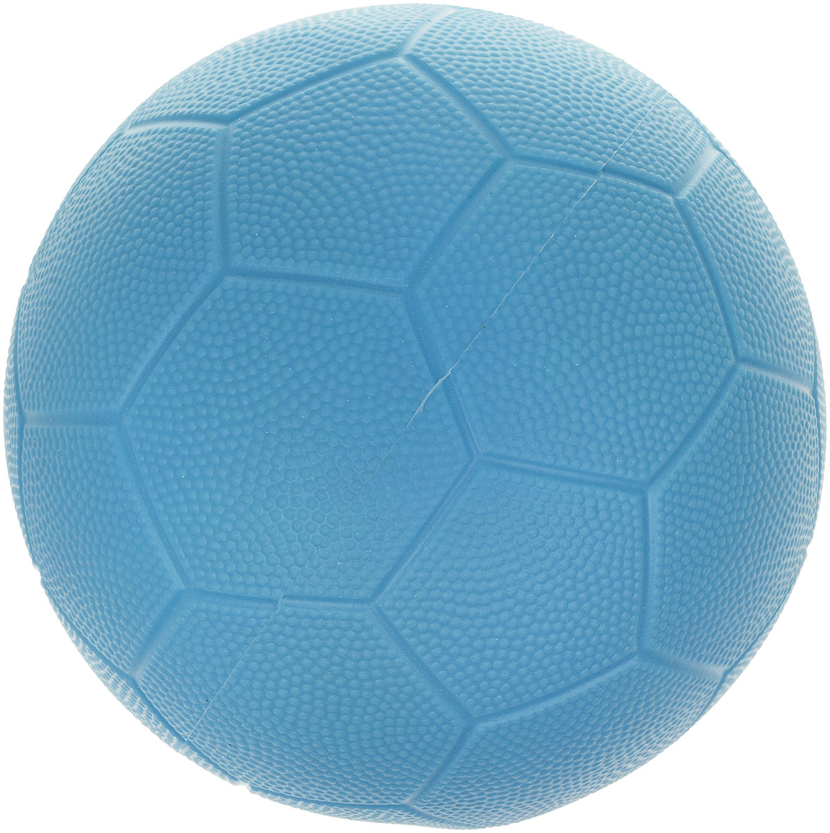 Весна Мяч детский футбольный цвет голубой