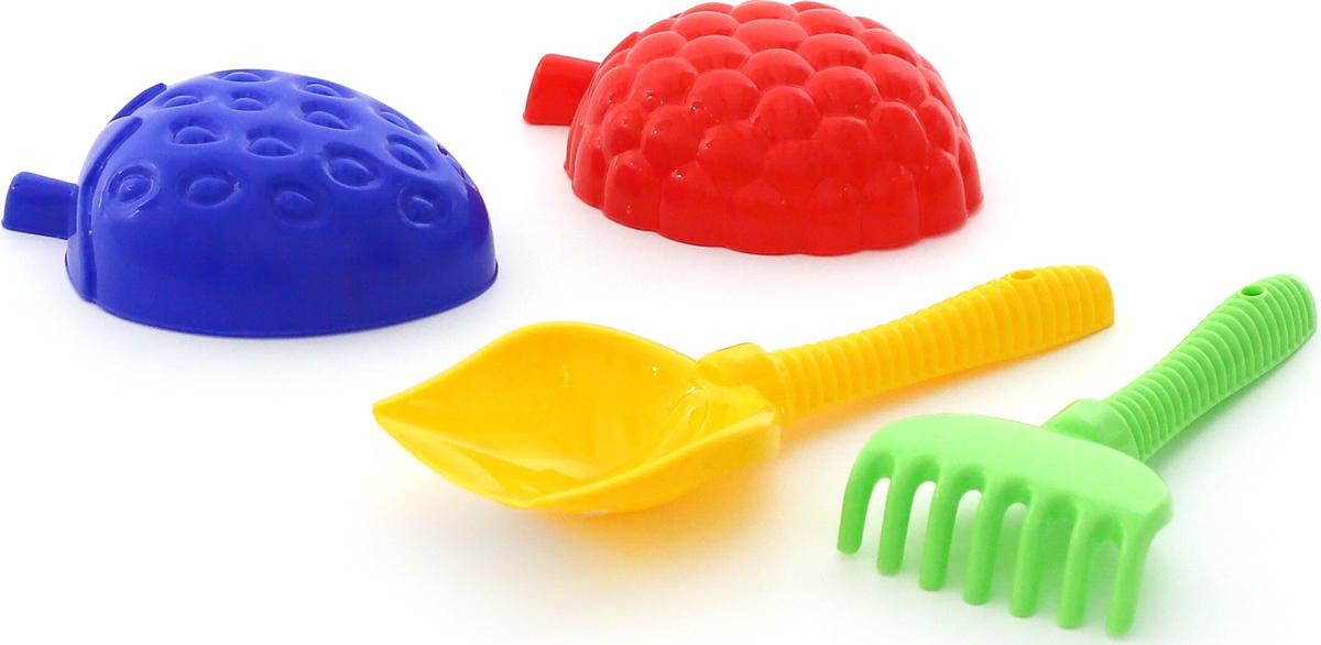 Полесье Набор игрушек для песочницы №412 полесье набор для песочницы 460