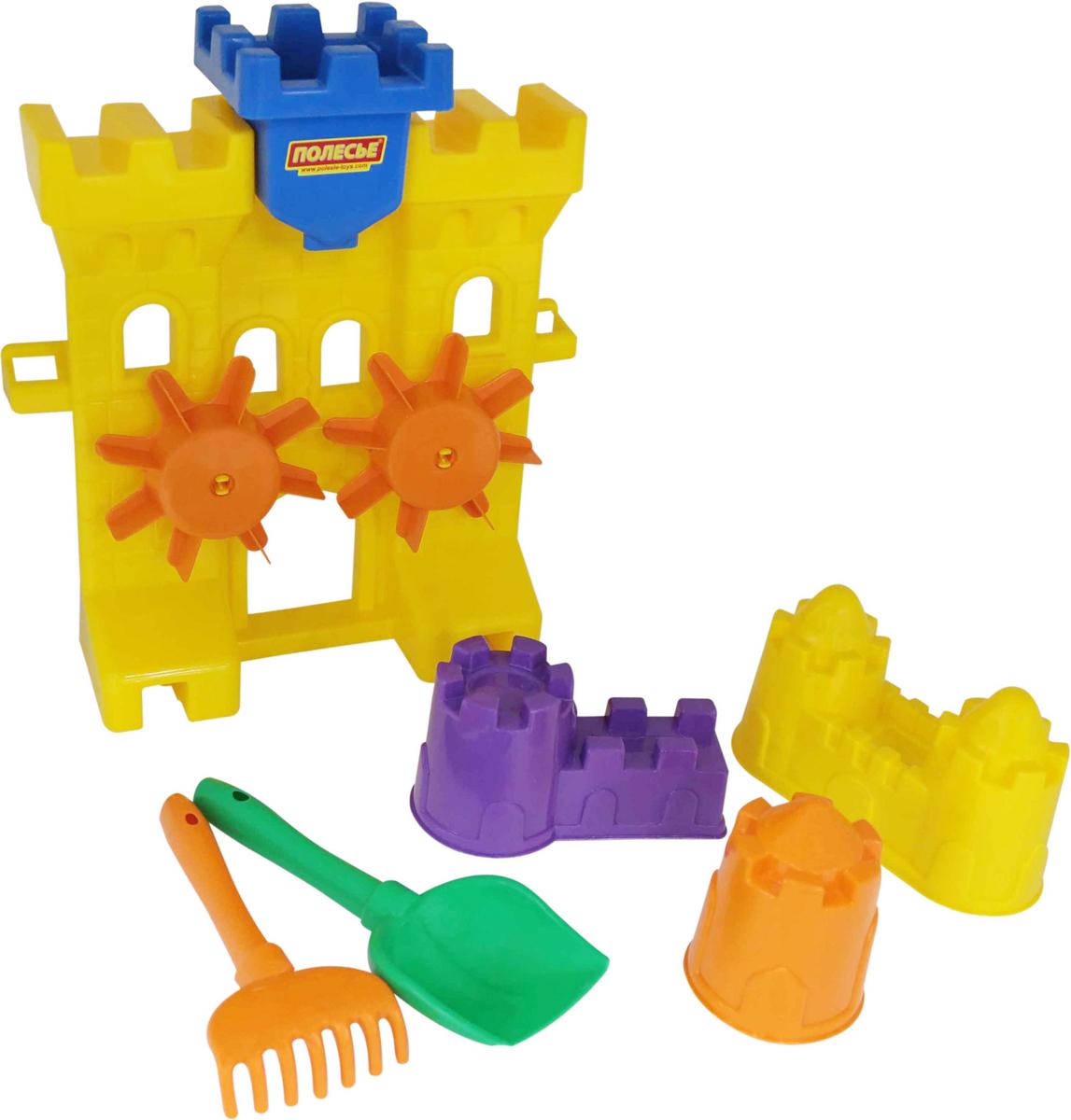 Полесье Набор игрушек для песочницы №466 полесье набор для песочницы 340