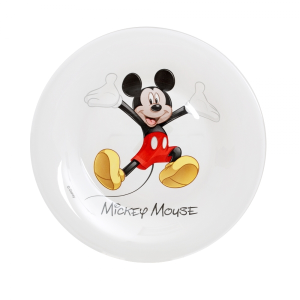 Тарелка десертная Luminarc Disney. Mickey Colors, диаметр 19 см подушка mickey mouse микки маус размер 50х25 см disney