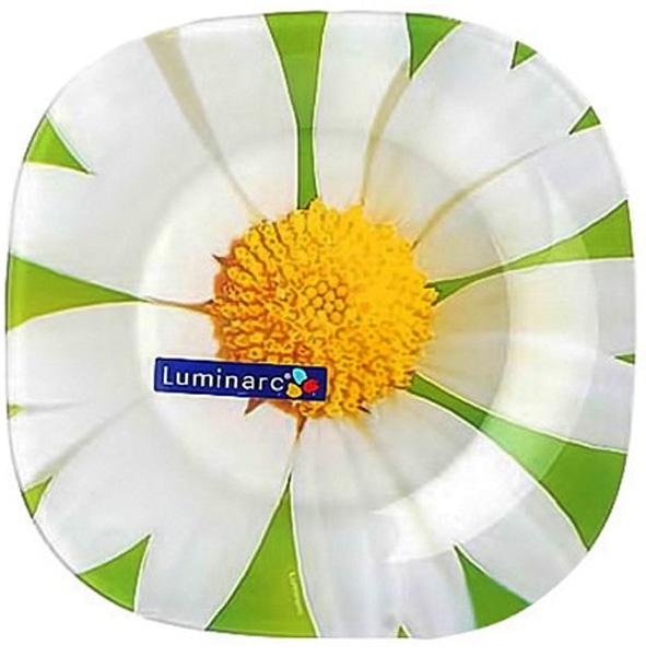 Тарелка десертная Luminarc Карин Ромашка, диаметр 20 смG0090Тарелка десертная Luminarc Карин Ромашка выполнена из высококачественного стекла. Бренд Luminarc - это один из лидеров мирового рынка по производству посуды и товаров для дома. В основе процесса изготовления лежит высококачественное сырье, а также строгий контроль качества. Товары для дома Luminarc уважают и ценят во всем мире, а многие эксперты считают данного производителя эталоном совершенства.