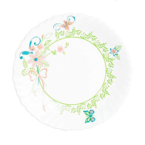 Тарелка десертная Luminarc КОЛОМБЕЛЬ, диаметр 19 смL5262Бренд Luminarc – это один из лидеров мирового рынка по производству посуды и товаров для дома. В основе процесса изготовления лежит высококачественное сырье, а также строгий контроль качества. Товары для дома Luminarc уважают и ценят во всем мире, а многие эксперты считают данного производителя эталоном совершенства.