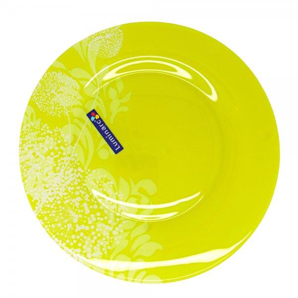 Тарелка десертная Luminarc ПЬЮМЭ ГРИН, диаметр 19 смJ7893Бренд Luminarc – это один из лидеров мирового рынка по производству посуды и товаров для дома. В основе процесса изготовления лежит высококачественное сырье, а также строгий контроль качества. Товары для дома Luminarc уважают и ценят во всем мире, а многие эксперты считают данного производителя эталоном совершенства.