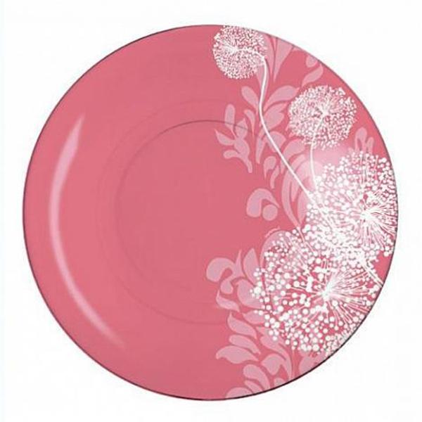 Тарелка десертная Luminarc Pium Pink, диаметр 19 смJ5562Тарелка десертная Luminarc Pium Pink выполнена из высококачественного стекла и декорирована изображением цветов. Бренд Luminarc - это один из лидеров мирового рынка по производству посуды и товаров для дома. В основе процесса изготовления лежит высококачественное сырье, а также строгий контроль качества. Товары для дома Luminarc уважают и ценят во всем мире, а многие эксперты считают данного производителя эталоном совершенства.
