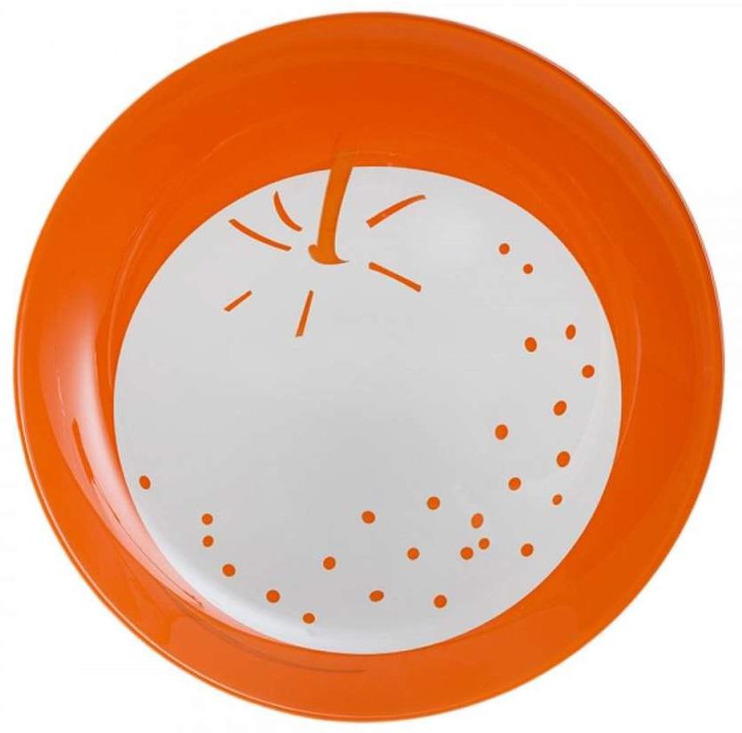 Тарелка десертная Luminarc Fruity Energy. Апельсин, диаметр 21 см