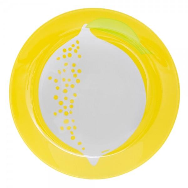 Тарелка десертная Luminarc Fruity Energy. Лимон, диаметр 21 смL2663Тарелка десертная Luminarc Fruity Energy. Лимон выполнена из высококачественного стекла яркого желтого цвета. Бренд Luminarc - это один из лидеров мирового рынка по производству посуды и товаров для дома. В основе процесса изготовления лежит высококачественное сырье, а также строгий контроль качества. Товары для дома Luminarc уважают и ценят во всем мире, а многие эксперты считают данного производителя эталоном совершенства.