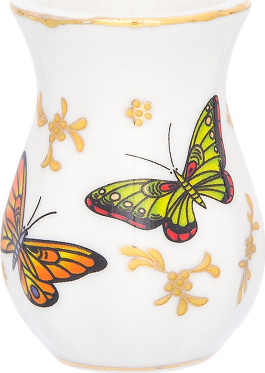 Подставка для зубочисток Elan Gallery Бабочки, 25 мл504116Вазочка для зубочисток из коллекции Бабочки дополнит сервировку вашего праздничного стола. Идеальна при выборе недорого подарка вашим близким.