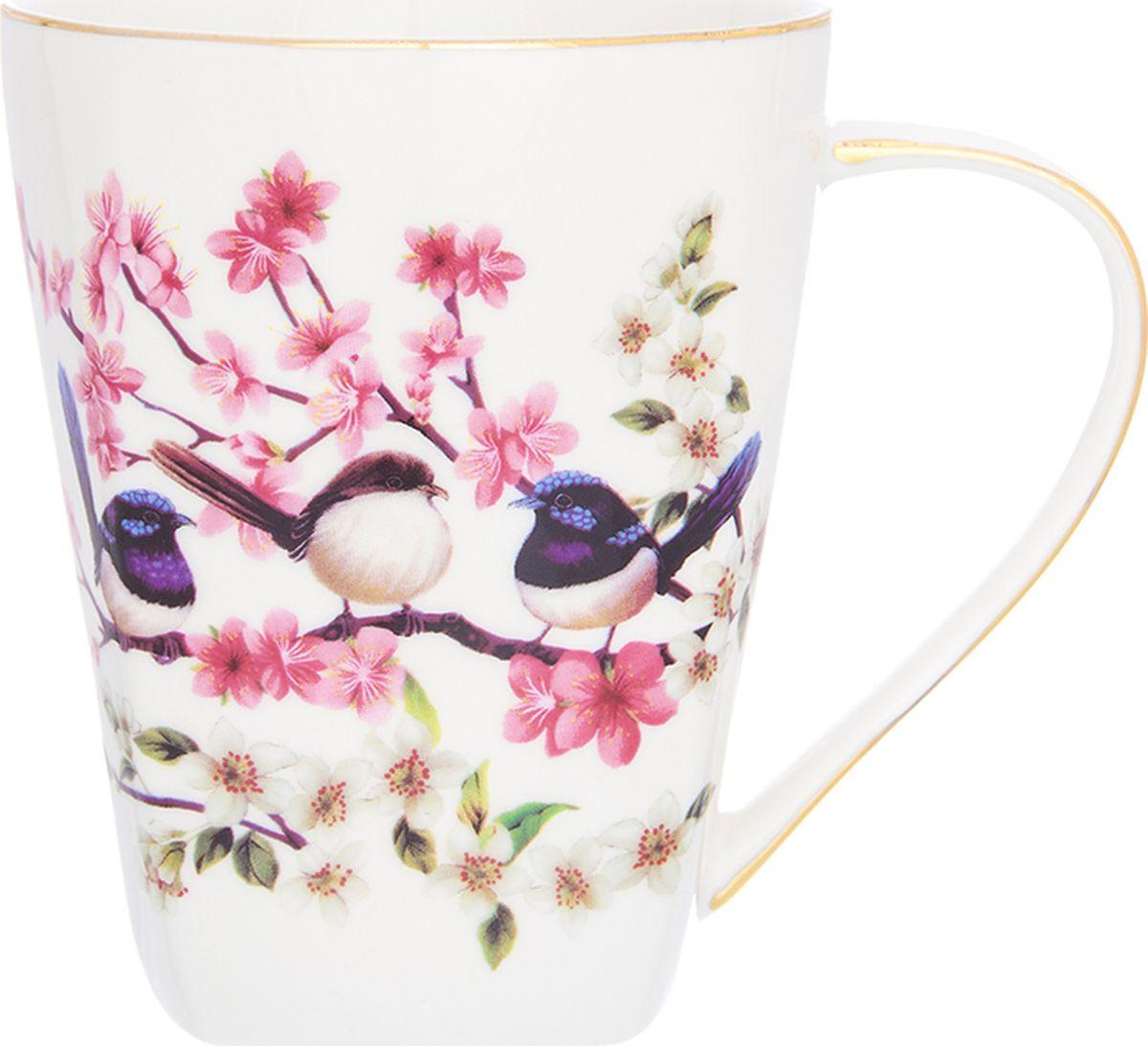 Кружка Elan Gallery  Райские птички , высокая, 420 мл. 504132 - Туристическая посуда