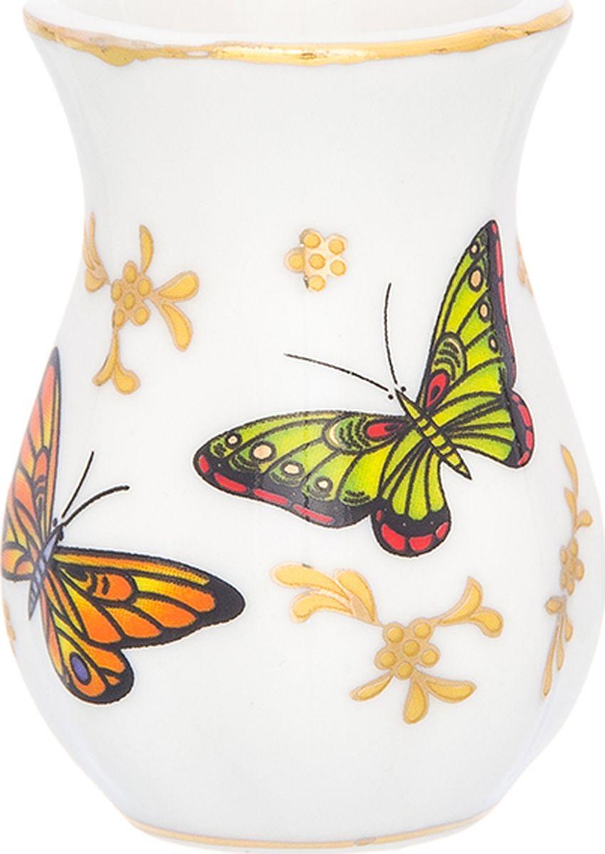 Подставка для зубочисток Elan Gallery Бабочки, 25 мл504162Подставка под зубочистки коллекции Бабочки приятная интерьерная мелочь. Дополнит облик вашего стола. Станет замечательным подарком по любому поводу.