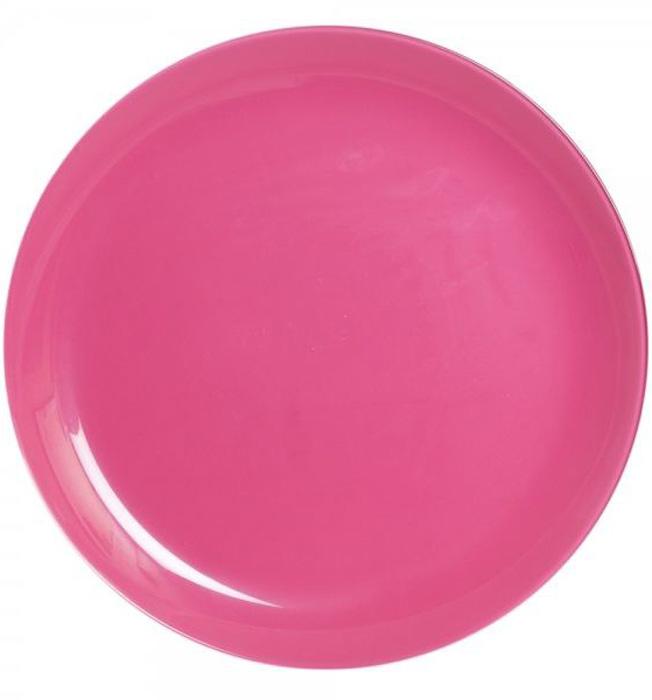 Тарелка обеденная Luminarc Arty Rose, диаметр 26 смL1050Тарелка среднего размера розового цвета Luminarc Arty Rose может использоваться как самостоятельный объект сервировки, например, как салатник. Тарелка подойдет для сервировки вторых блюд, а так же ее можно использовать, как блюдо для подачи закусок. Будет смотреться на вашем столе модно и современно.Можно мыть в посудомоечной машине и использовать в СВЧ.