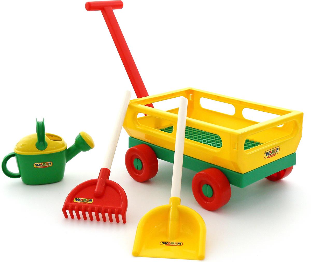 Полесье Набор игрушек для песочницы №482 - Игры на открытом воздухе
