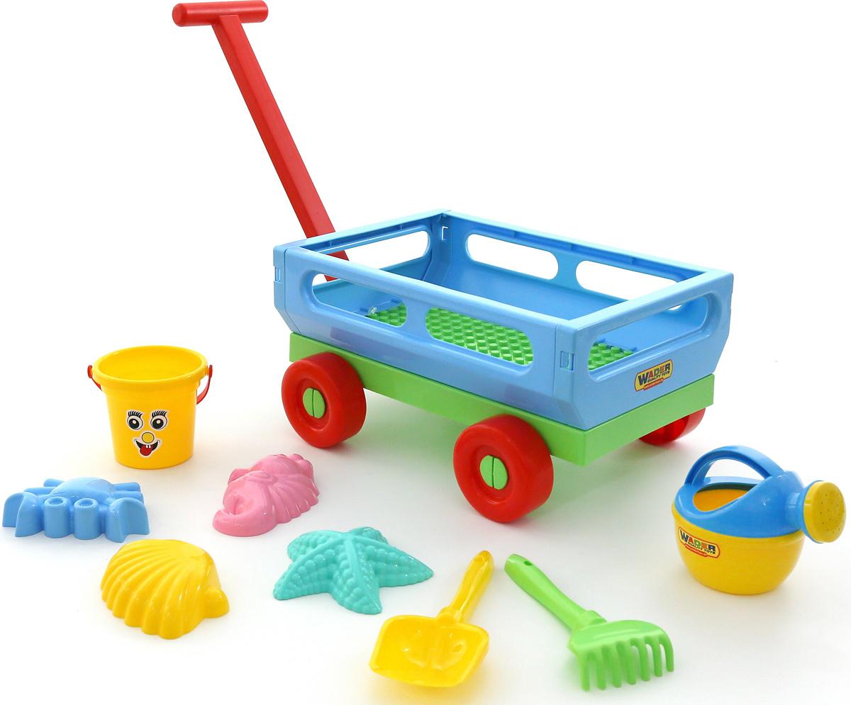 Полесье Набор игрушек для песочницы №487 - Игры на открытом воздухе