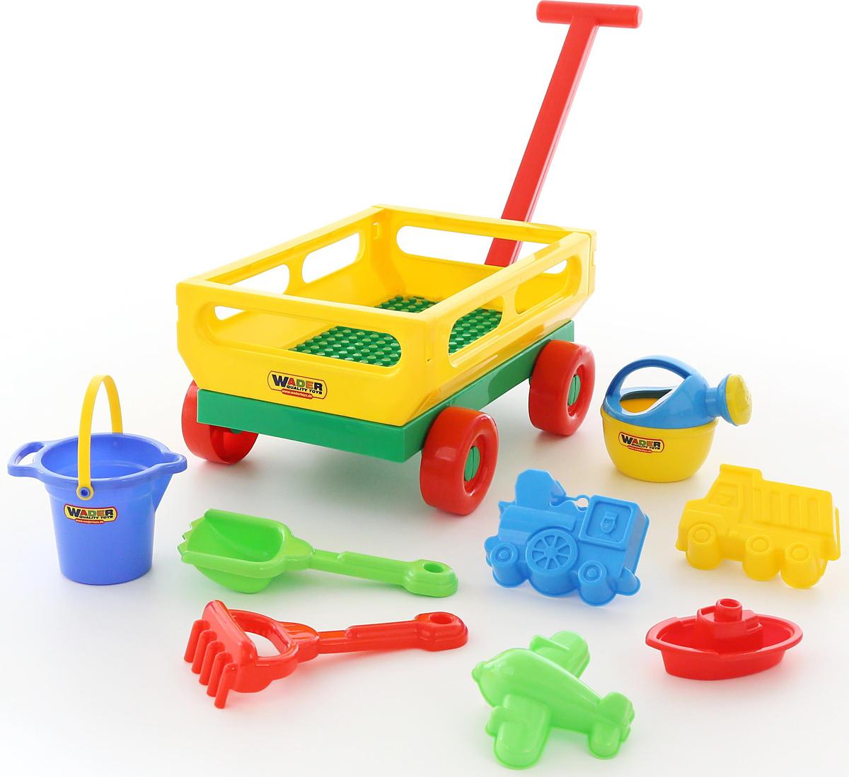 Полесье Набор игрушек для песочницы №488 - Игры на открытом воздухе