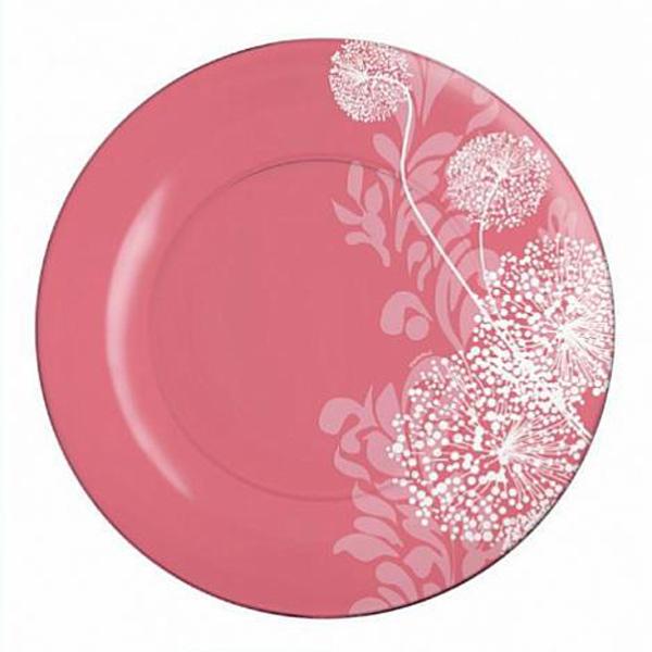 Тарелка обеденная Luminarc Pium Pink, диаметр 25 см16590650Тарелка обеденная из серии Luminarc Pium Pink выполнена из ударопрочного, термостойкого стекла, способного выдерживать значительные перепады температуры. Благодаря высокому качеству окраски, сохранит свою яркость и первозданный вид даже после частного использования в посудомоечной машине и СВЧ. Тарелка предназначена для вторых блюд из птицы, рыбы, мяса или овощей. На ней ваши кулинарные шедевры будут выглядеть ещё более привлекательно и аппетитно.