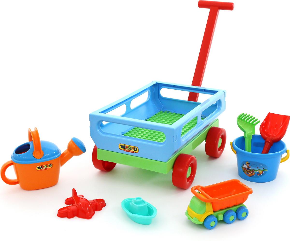 Полесье Набор игрушек для песочницы №489 - Игры на открытом воздухе