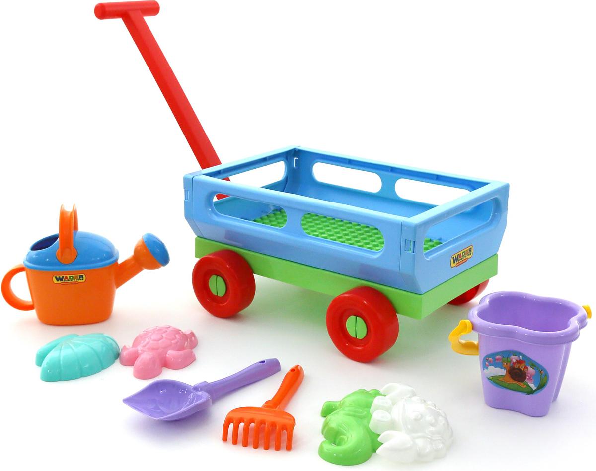 Полесье Набор игрушек для песочницы №490 - Игры на открытом воздухе