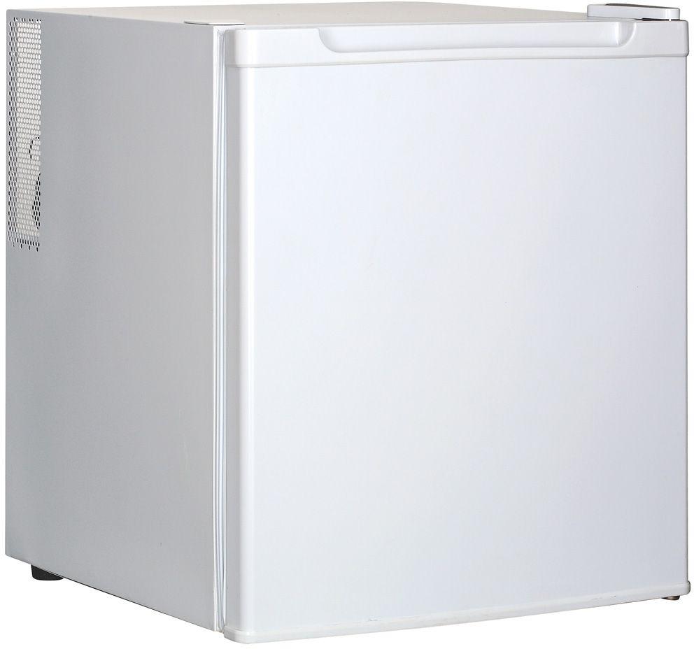 GASTRORAG BC-42B, White холодильникBC-42BХолодильный шкаф GASTRORAG BC-42B термоэлектрический (без компрессора), вентилируемый, no frost, +5...+15 °С, 42 л, 1 дверца, 2 полки-решетки, подсветка, цвет белый.