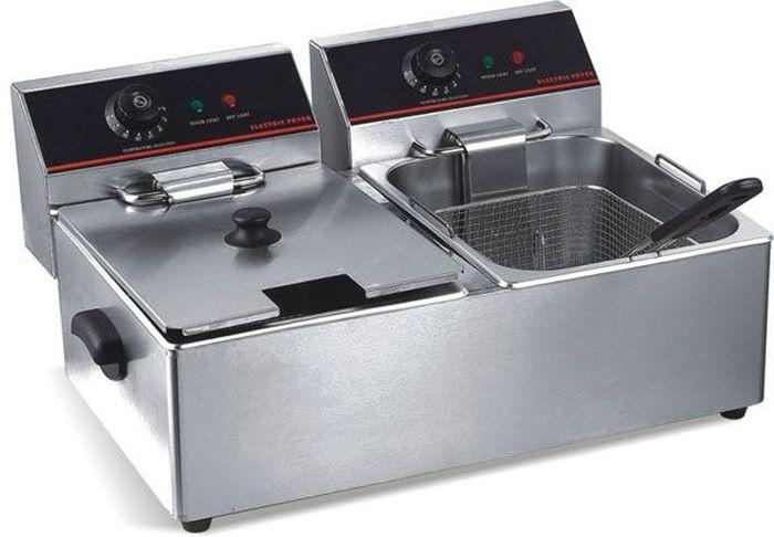 GASTRORAG CZG-CKEF-66 фритюрницаCZG-CKEF-66Электрическая настольная фритюрница (фритюрный шкаф) GASTRORAG CZG-CKEF-66 с, 2 котлами емкостью по 6 л предназначена для приготовления блюд в глубоком слое масла (во фритюре).Температурный диапазон: 110-190 градусов.