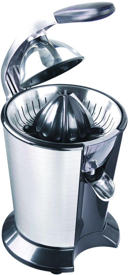 GASTRORAG HA-720, Silver соковыжималкаHA-720Соковыжималка GASTRORAG HA-720 предназначена для приготовления свежего сока из цитрусовых, электрическая, 116 об/мин, с прижимным рычагом и мультиконусом.