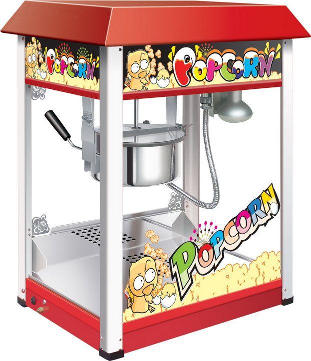 GASTRORAG HP-6B, Red попкорн мейкерHP-6BПопкорн мейкер GASTRORAG VBG-POP6A-B настольный специально создан для домашней вечеринки или посиделок за хорошим фильмом. Разовая загрузка 230 грамм позволит накормить всю семью! Модель оснащена канапе.