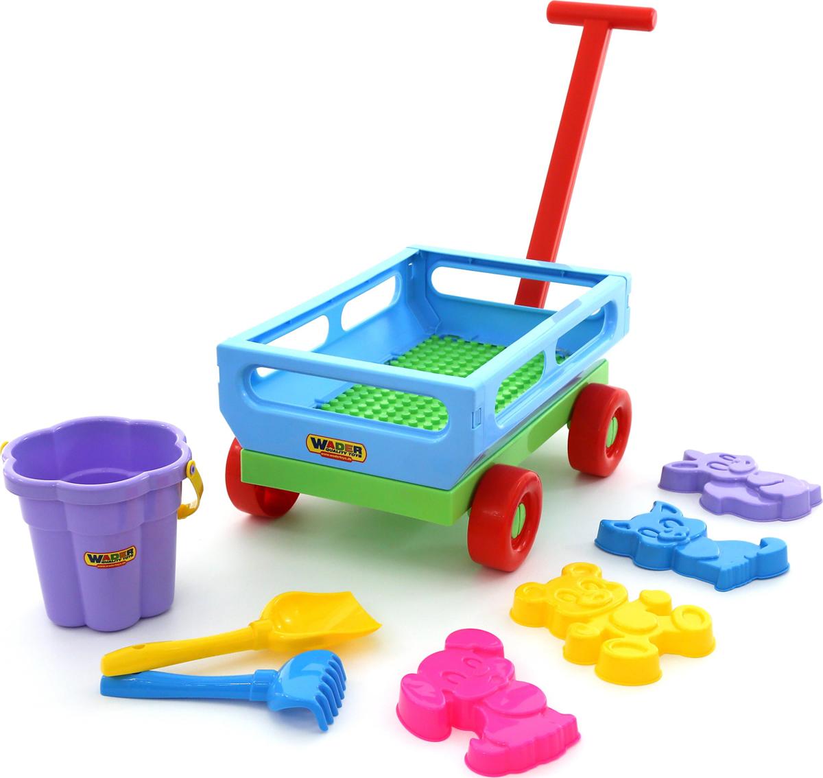 Полесье Набор игрушек для песочницы №491 - Игры на открытом воздухе