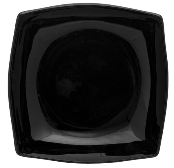 Тарелка суповая Luminarc КВАДРАТО, цвет: черный, 20 х 20 смH3671Бренд Luminarc – это один из лидеров мирового рынка по производству посуды и товаров для дома. В основе процесса изготовления лежит высококачественное сырье, а также строгий контроль качества. Товары для дома Luminarc уважают и ценят во всем мире, а многие эксперты считают данного производителя эталоном совершенства.