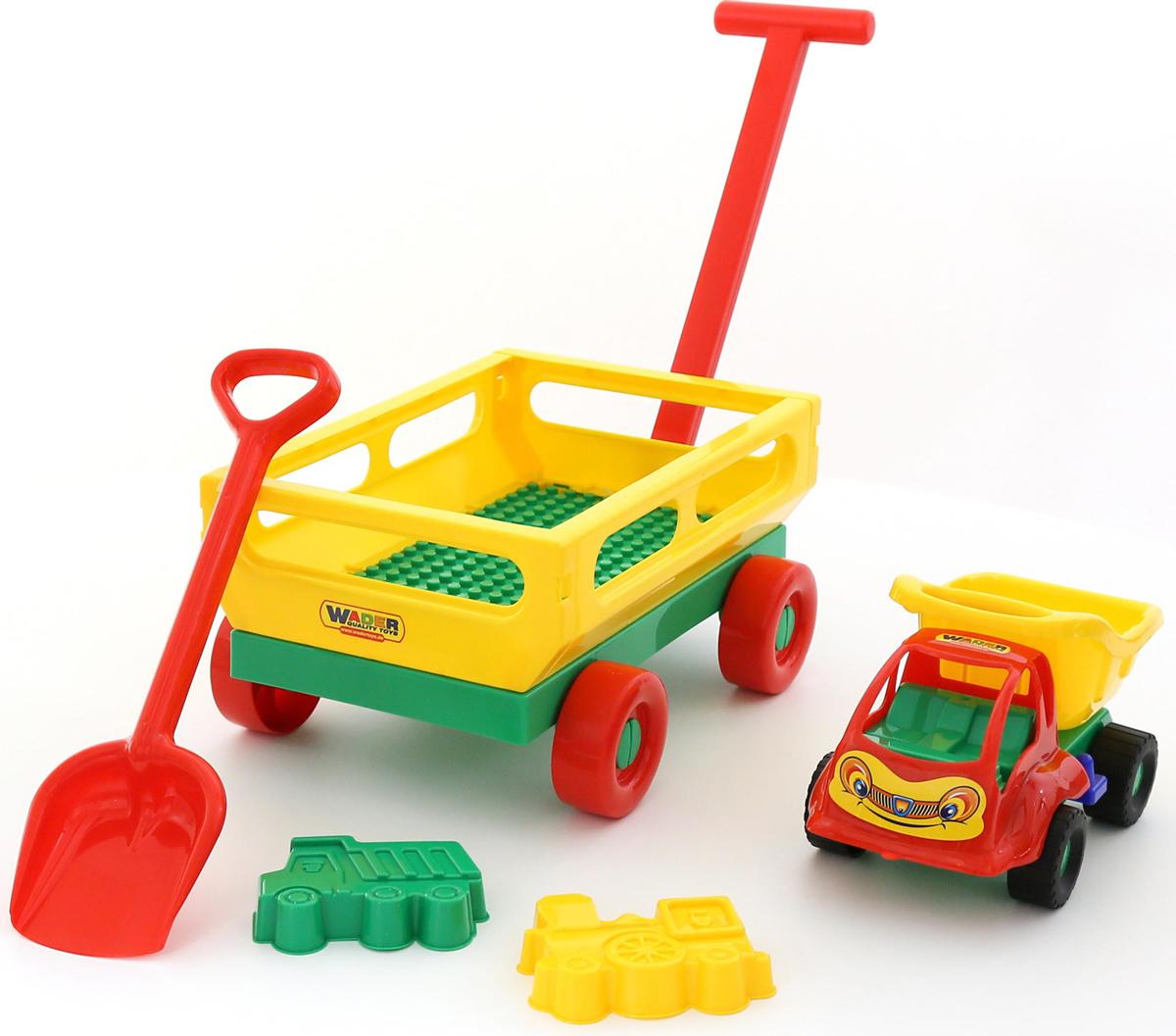 Полесье Набор игрушек для песочницы №495 - Игры на открытом воздухе