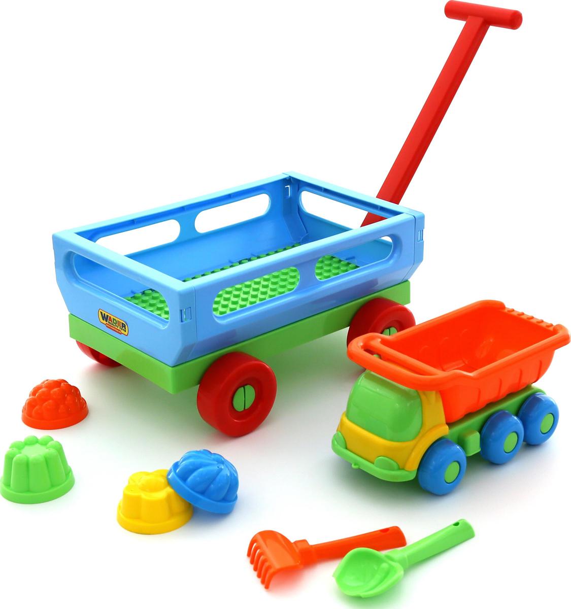 Полесье Набор игрушек для песочницы №496
