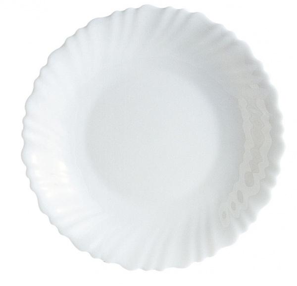 Тарелка суповая Luminarc Feston, диаметр 21 смL3459Тарелка суповая белаяиз серии Luminarc Feston выполнена из ударопрочного, закаленного стекла, устойчива к резким перепадам температуры. Может использоваться в посудомоечной машине и СВЧ. Тарелка предназначена для подачи первых блюд и вмещает 450 мл жидкости (до самого края). Комфортно в тарелку помещается 3 половника супа, при этом она не будет заполнена до самого края. Тарелка, выполнена в классическом стиле, идеально подойдет для повседневной сервировки