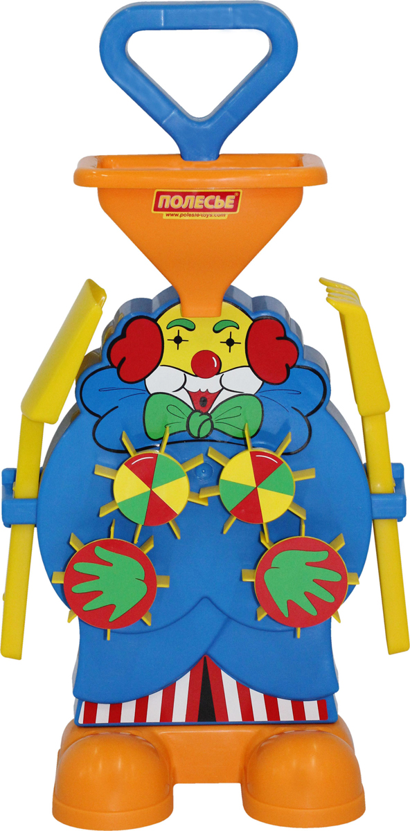 Полесье Набор игрушек для песочницы №498 полесье набор для песочницы 340