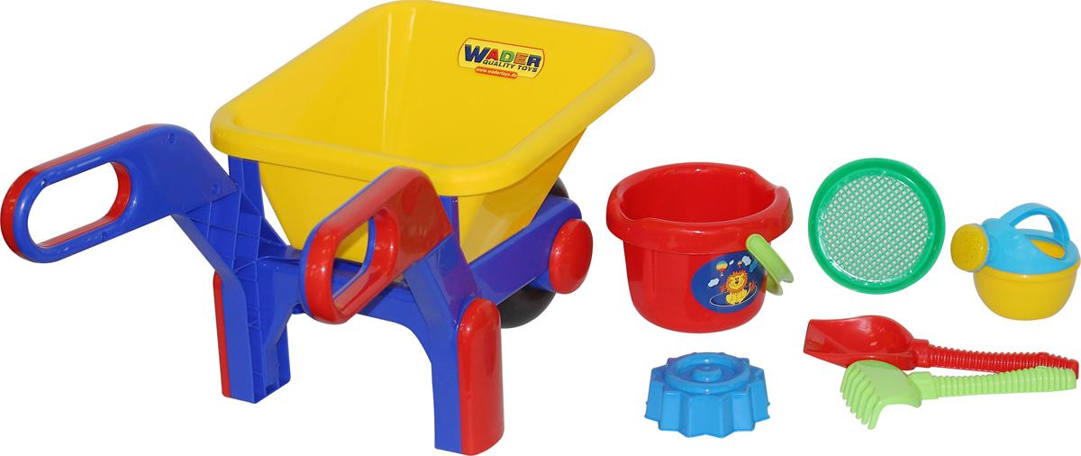 Полесье Набор игрушек для песочницы №544 полесье набор для песочницы 406