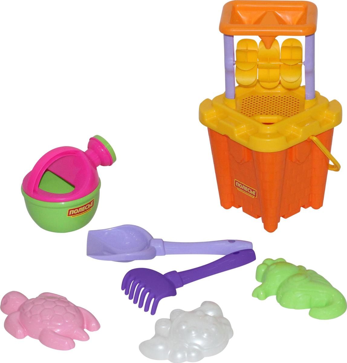 Полесье Набор игрушек для песочницы №557 полесье набор для песочницы 340