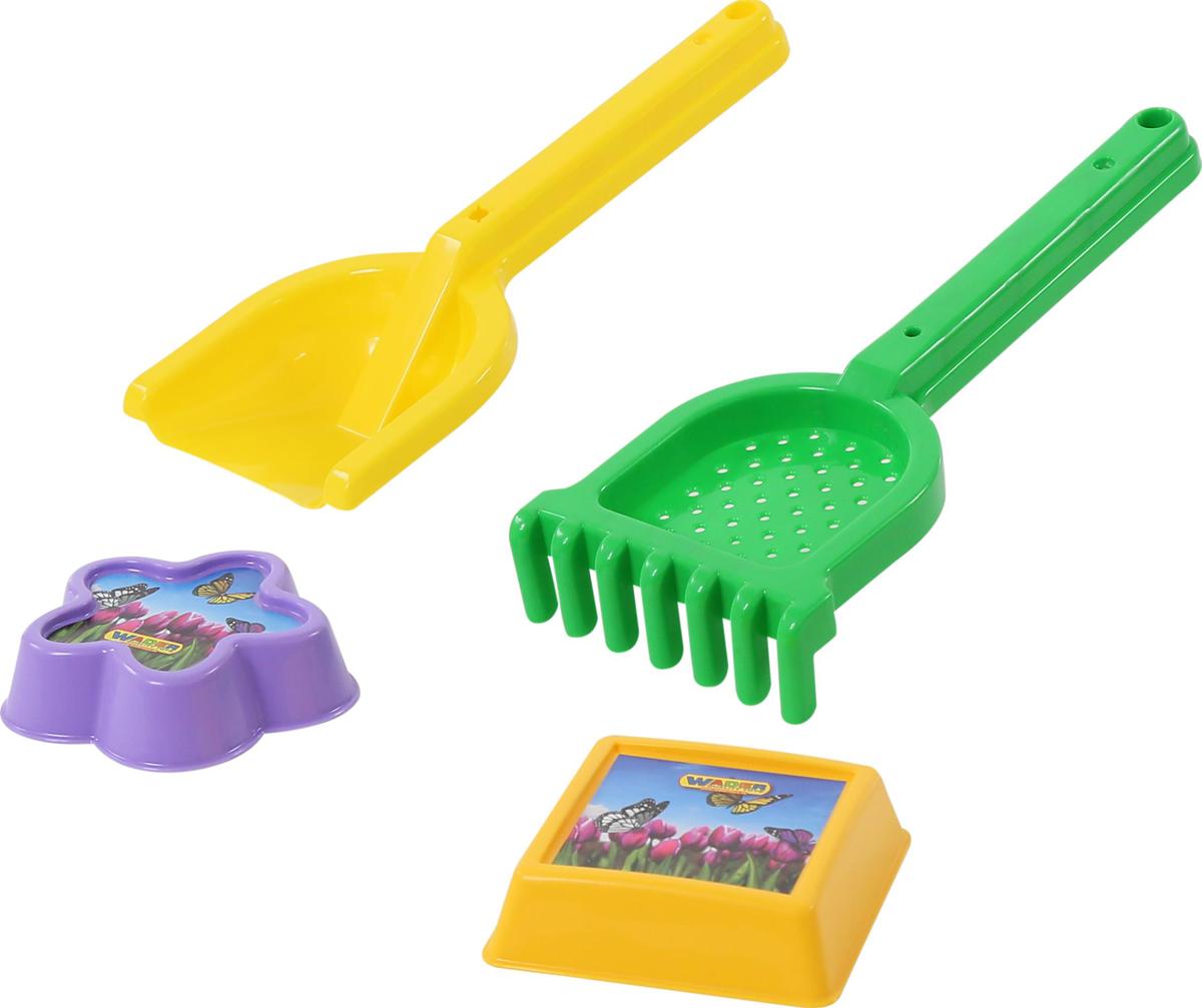 Полесье Набор игрушек для песочницы №558 полесье игрушка для песочницы грабельки 7
