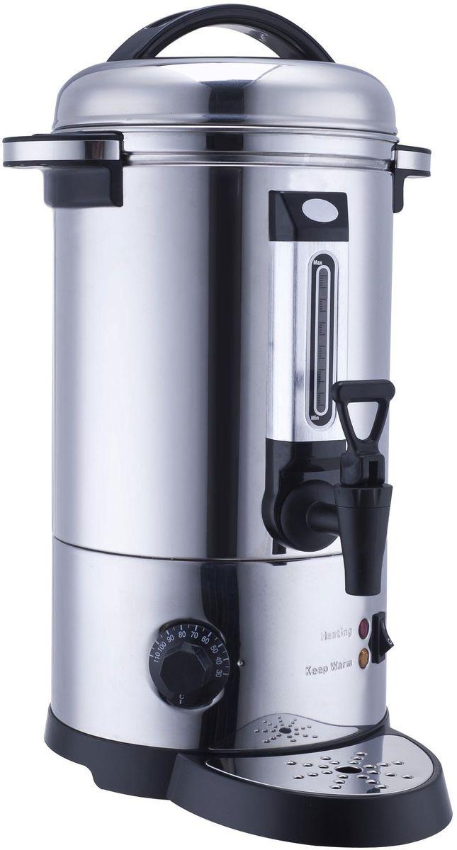 GASTRORAG DK-LX-300 кипятильникDK-LX-300Кипятильник GASTRORAG DK-LX-300 настольный, автономный (наливной), одинарные стенки, емкость резервуара 30 л, закрытый ТЭН, терморегулятор (30-110 °С), мерное стекло, разливной кран, материал корпуса - нержавеющая сталь.