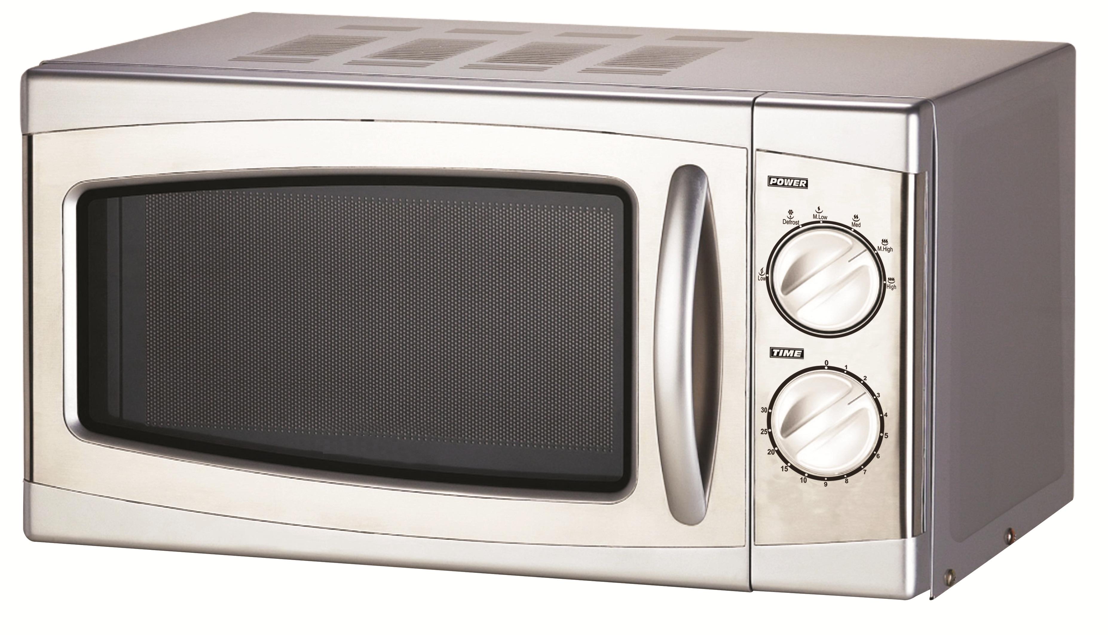 GASTRORAG WD700N20, Silver СВЧ-печьWD700N20Настольная микроволновая печь GASTRORAG WD700N20 станет незаменимым помощником на вашей кухне. Особенности: мощность - 700 Вт,емкость камеры - 20 л,материал корпуса - окрашенная сталь,передняя панель - нержавеющая сталь