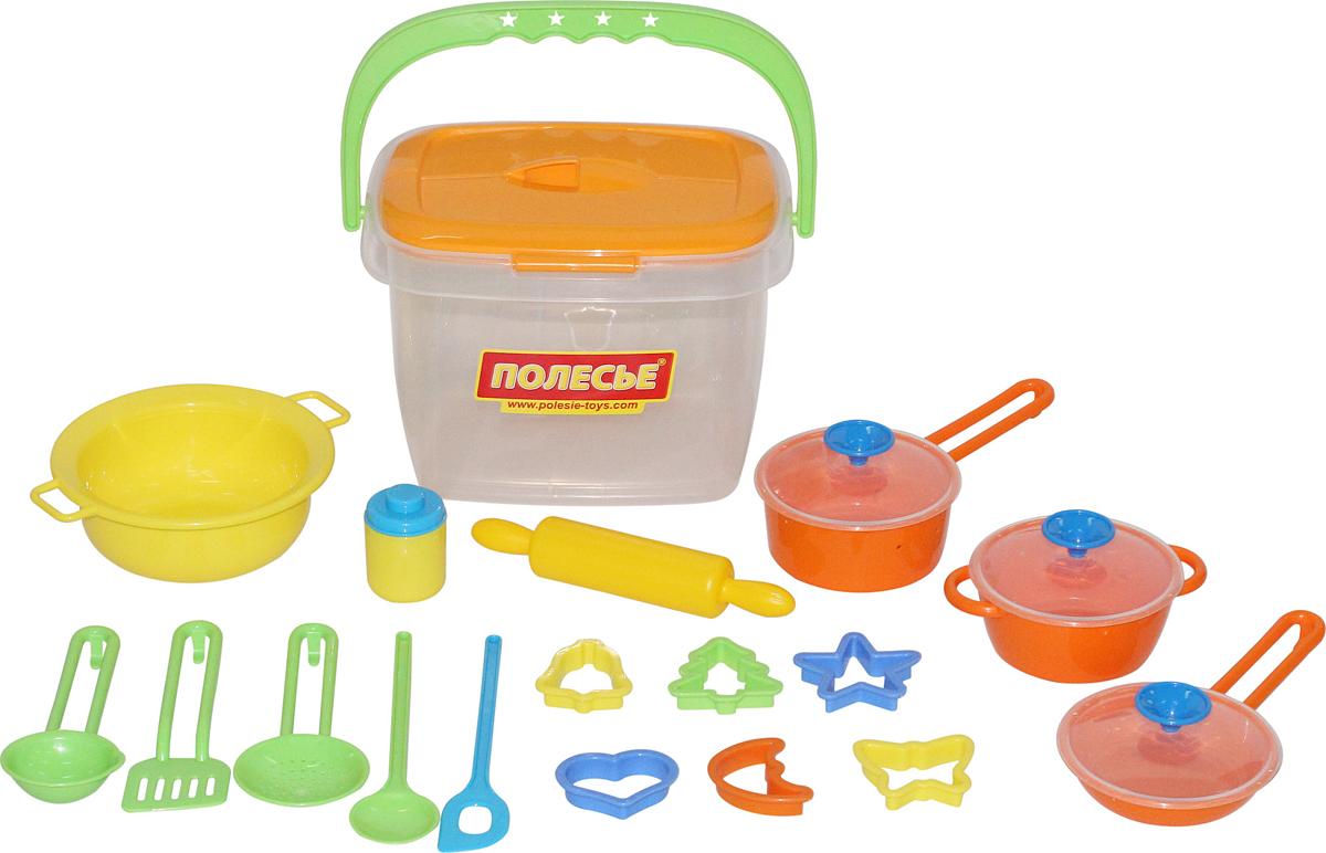 Полесье Набор игрушечной посуды 20 предметов 56627