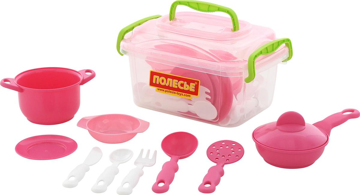 Полесье Набор игрушечной посуды 35 предметов полесье набор игрушечной посуды анюта 3865