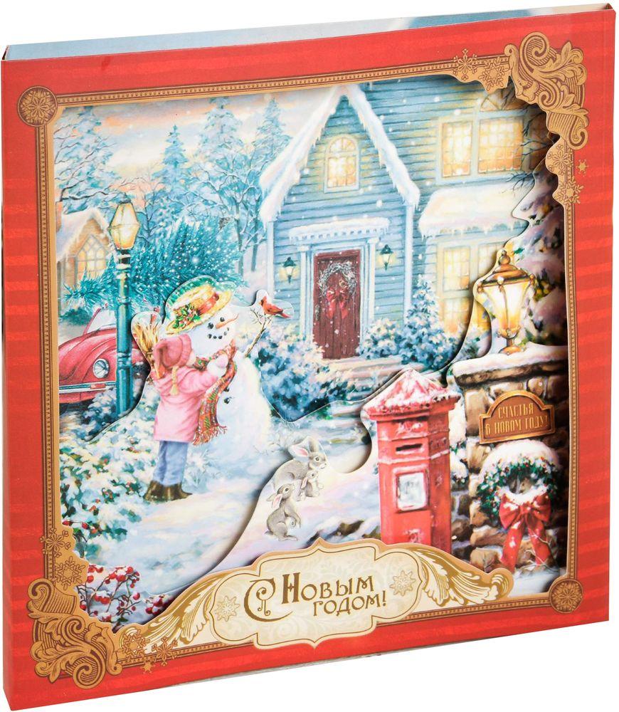 Открытка Дарите Счастье Новогодняя сказка, 15 х 15 см2316367Выразить свои чувства и дополнить основной подарок теплыми словами вам поможет . С ней ваше пожелание «Счастья, любви и здоровья» приобретет трепетный и душевный подтекст. А воспоминания о праздничном дне еще долго будут радовать адресата.Среди нашего ассортимента печатной поздравительной продукции вы выберете открытку для любого праздника и повода.Невозможно представить нашу жизнь без праздников! Мы всегда ждем их и предвкушаем, обдумываем, как проведем памятный день, тщательно выбираем подарки и аксессуары, ведь именно они создают и поддерживают торжественный настрой. — это отличный выбор, который привнесет атмосферу праздника в ваш дом!