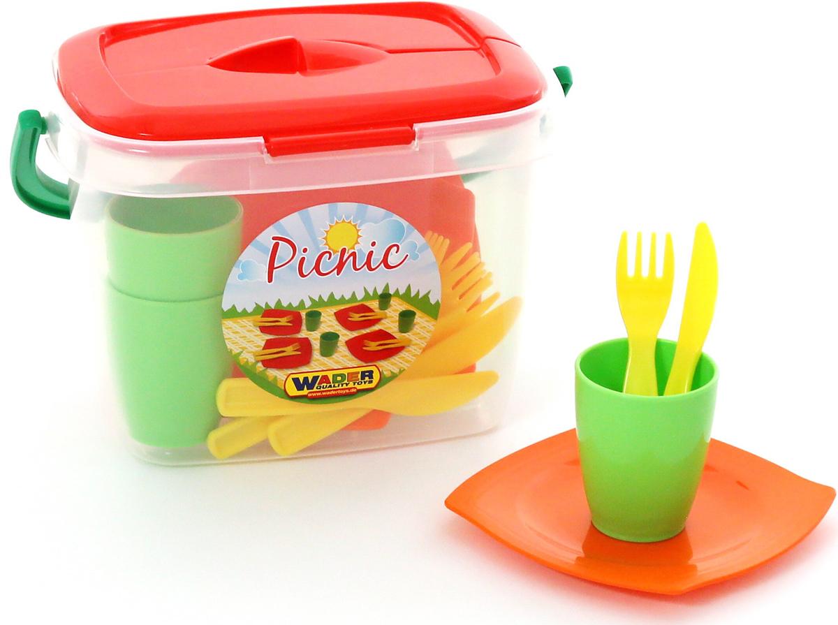 Полесье Набор игрушечной посуды Алиса для пикника №1 полесье набор для песочницы 469