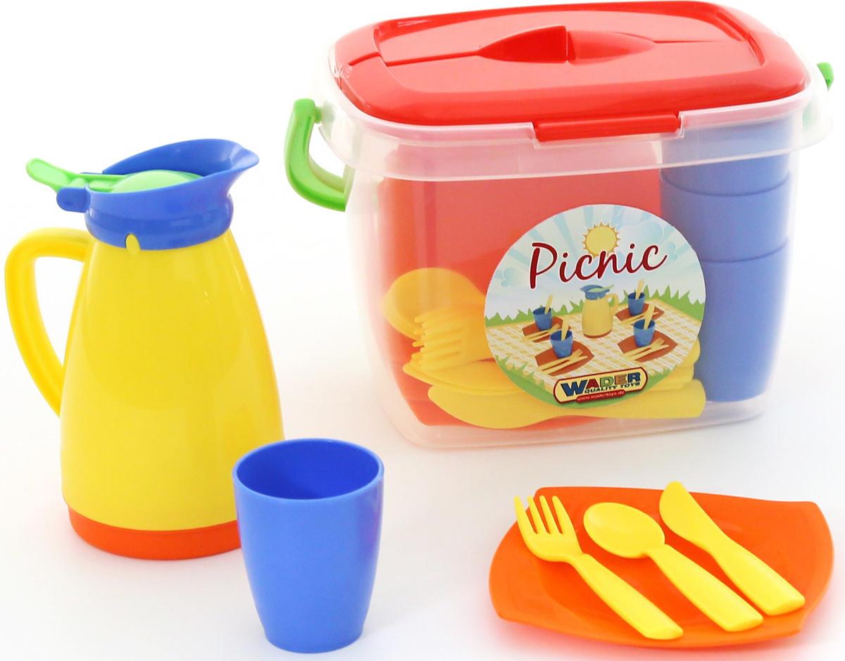 Полесье Набор игрушечной посуды Алиса для пикника №2 набор для пикника авто 2