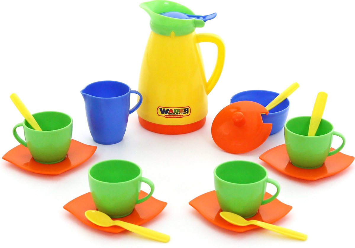 Полесье Набор игрушечной посуды Алиса 40619 ролевые игры росигрушка набор посуды столовый рыбный день 9 деталей