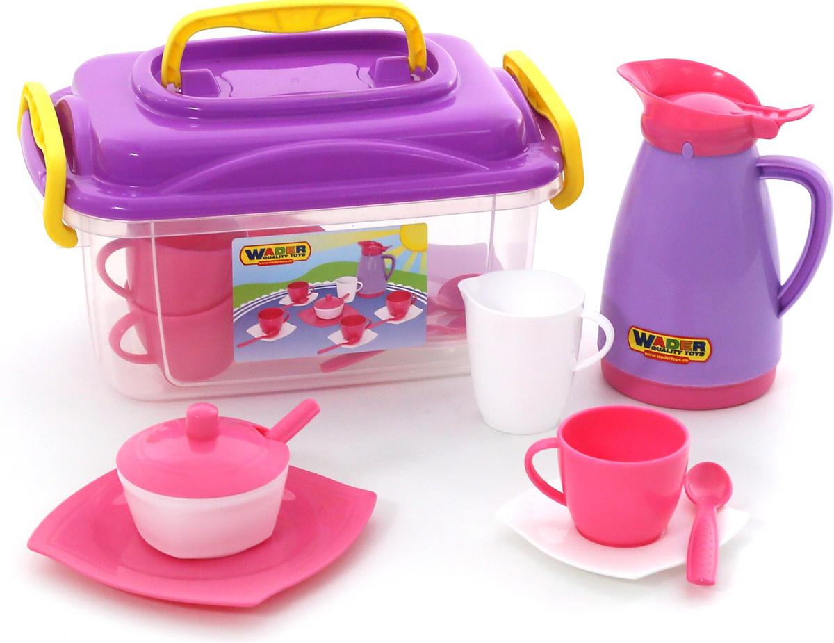 Полесье Набор игрушечной посуды Алиса 53480 полесье набор игрушечной посуды анюта 3865