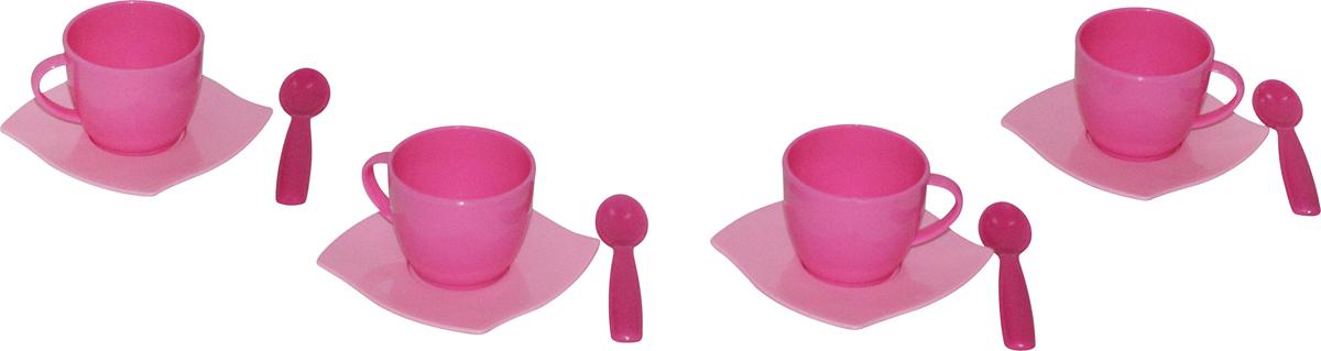 Полесье Набор игрушечной посуды Алиса 56023 полесье набор для песочницы 406
